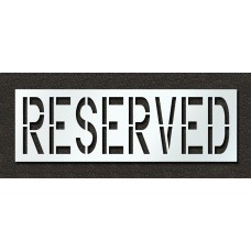 24 Inch - RESERVED Stencil