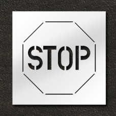 24 in. Stop Sign Pavement Stencil