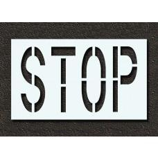 24 Inch - STOP Stencil