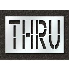 24 Inch - THRU Stencil