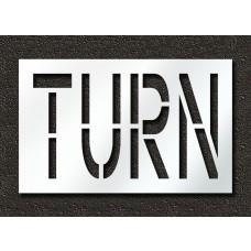 24 Inch - TURN Stencil