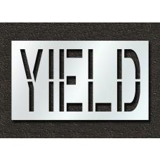 24 Inch - YIELD Stencil