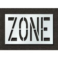 24 Inch - ZONE Stencil