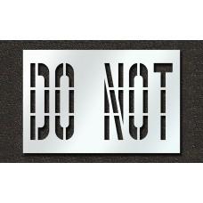 36 Inch - DO NOT Stencil