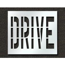 36 Inch - DRIVE Stencil