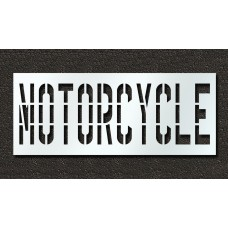 36 Inch - MOTORCYCLE Stencil