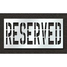 36 Inch - RESERVED Stencil