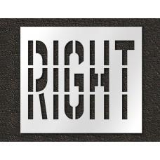 36 Inch - RIGHT Stencil