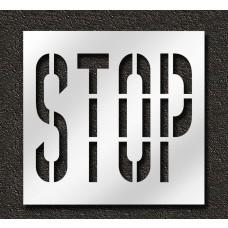 36 Inch - STOP Stencil