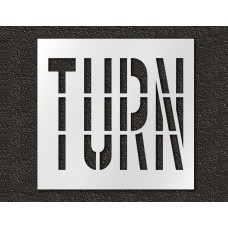 36 Inch - TURN Stencil