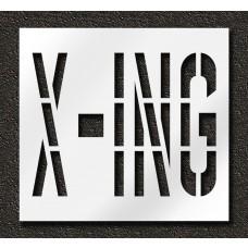 36 Inch - X-ING Stencil