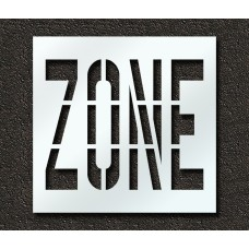 36 Inch - ZONE Stencil