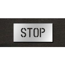4 Inch - STOP Stencil
