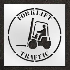 42 inch Forklift Traffic Stencil
