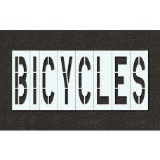 48 Inch - BICYCLES Stencil
