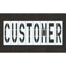 48 Inch - CUSTOMER Stencil