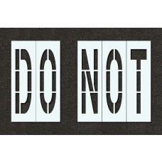 48 Inch - DO NOT Stencil