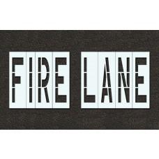 48 Inch - FIRE LANE Stencil
