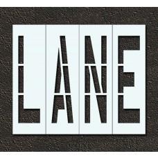 48 Inch - LANE Stencil