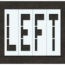 48 Inch - LEFT Stencil