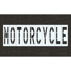 48 Inch - MOTORCYCLE Stencil