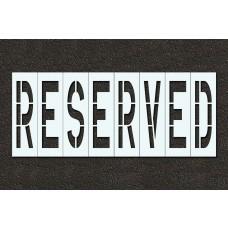 48 Inch - RESERVED Stencil