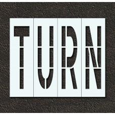48 Inch - TURN Stencil
