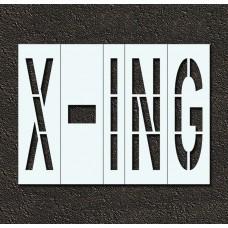 48 Inch - X-ING Stencil