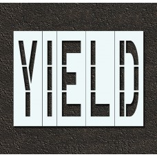 48 Inch - YIELD Stencil