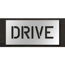 6 Inch - DRIVE Stencil