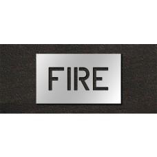 6 Inch - FIRE Stencil