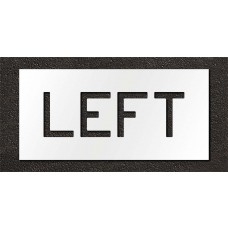 6 Inch - LEFT Stencil