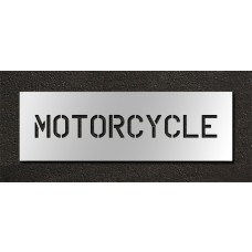 6 Inch - MOTORCYCLE Stencil