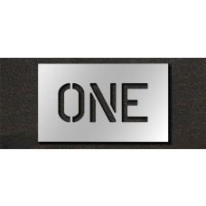 6 Inch - ONE Stencil