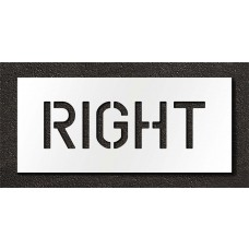 6 Inch - RIGHT Stencil