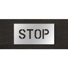 6 Inch - STOP Stencil