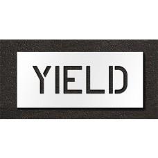 6 Inch - YIELD Stencil