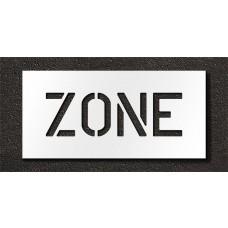 6 Inch - ZONE Stencil