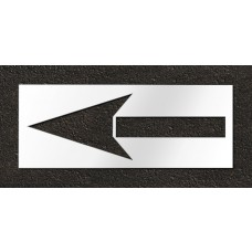 72 Inch - Bike Lane Arrow Stencil