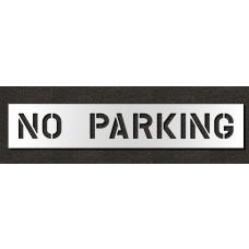 8 Inch - NO PARKING Stencil