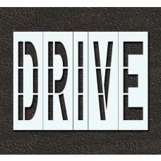 96 Inch - DRIVE Stencil