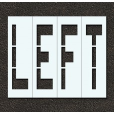 96 Inch - LEFT Stencil