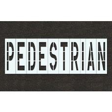 96 Inch - PEDESTRIAN Stencil