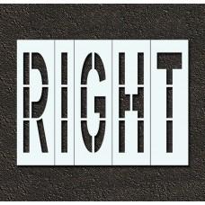 96 Inch - RIGHT Stencil