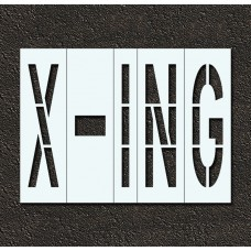96 Inch - X-ING Stencil