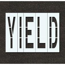 96 Inch - YIELD Stencil