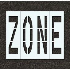 96 Inch - ZONE Stencil