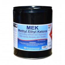 MEK (Methyl Ethyl Ketone) paint thinner, cleaning solvent, and degreaser.