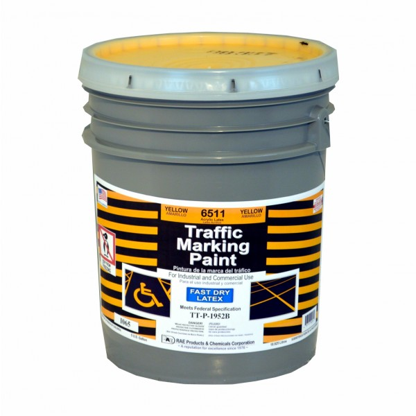 Fast Dry Latex Water Based Marking Paint Traffic And