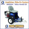Graco LineDriver - Ride-On easy liner rider System for Line Striping - 262004